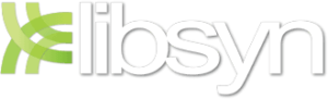 mike writing Liberated Syndication libsyn logo