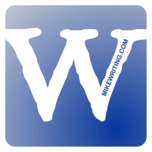 W icon with MikeWriting.com watermark